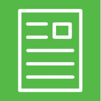 Icon of a sheet of paper/journal